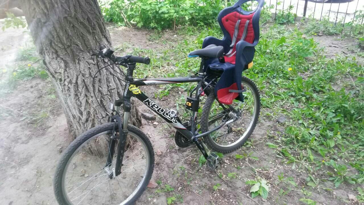 Аренда: Велокресло для перевозки детей
