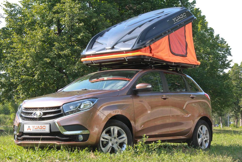 Аренда: Авто-палатка 2-х местная