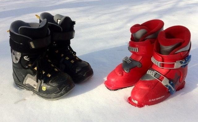Детские сноубордические и горнолыжные ботинки 9cef258de98