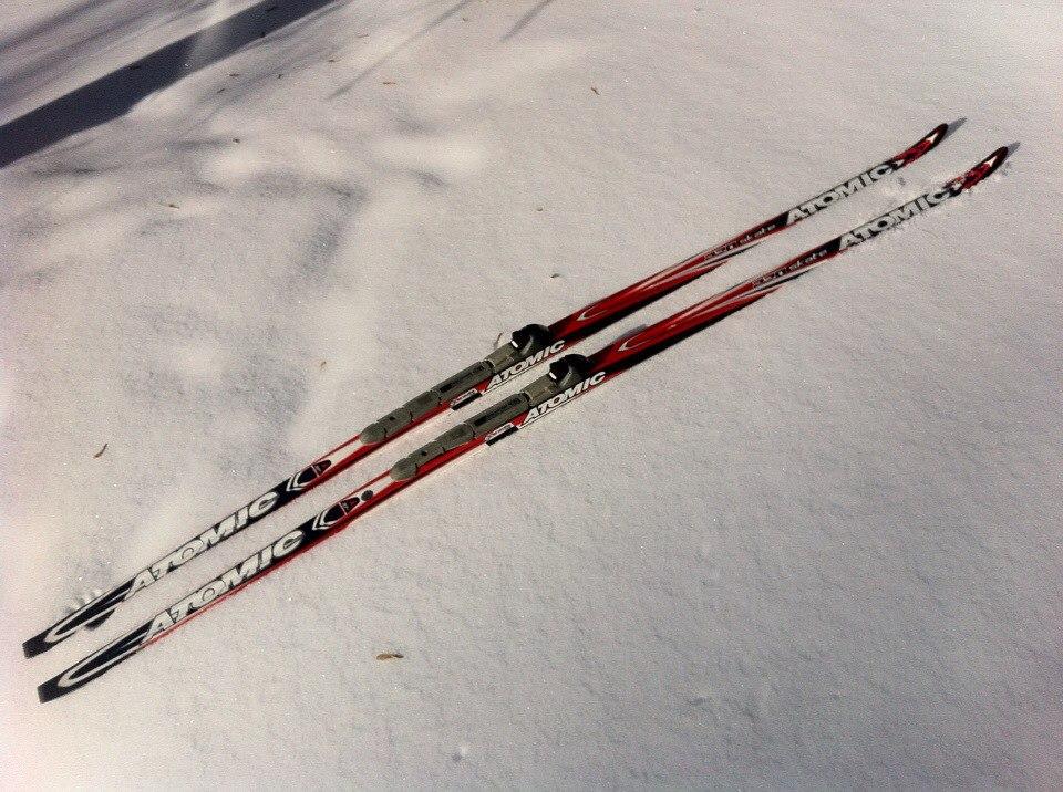 Аренда: Беговые лыжи для конькового хода (без ботинок)