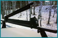 Аренда: Зажимы для перевозки горных лыж и сноубордов