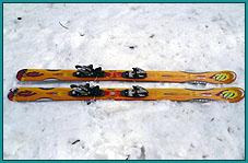 Аренда: Горные лыжи для фрирайда
