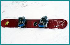 Аренда: Сноуборд (без ботинок)