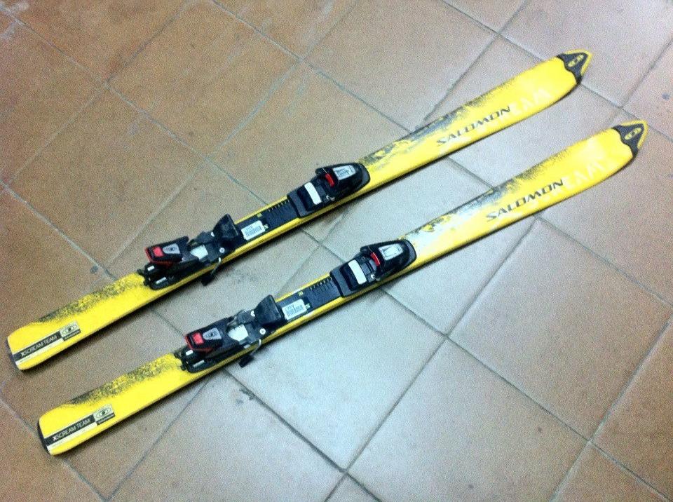 Аренда: Горные лыжи Salomon